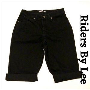 Riders by Lee Raw Hem Cutoff Capri Beautiful Jeans